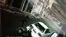 Il percute une voiture avec sa moto et repart comme si rien ne s'était passé