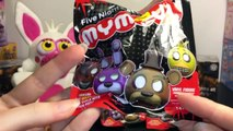 Five Nights at Freddys FNAF Blind Bag Toy Opening Skit: Funko Mystery Minis & Mymojis