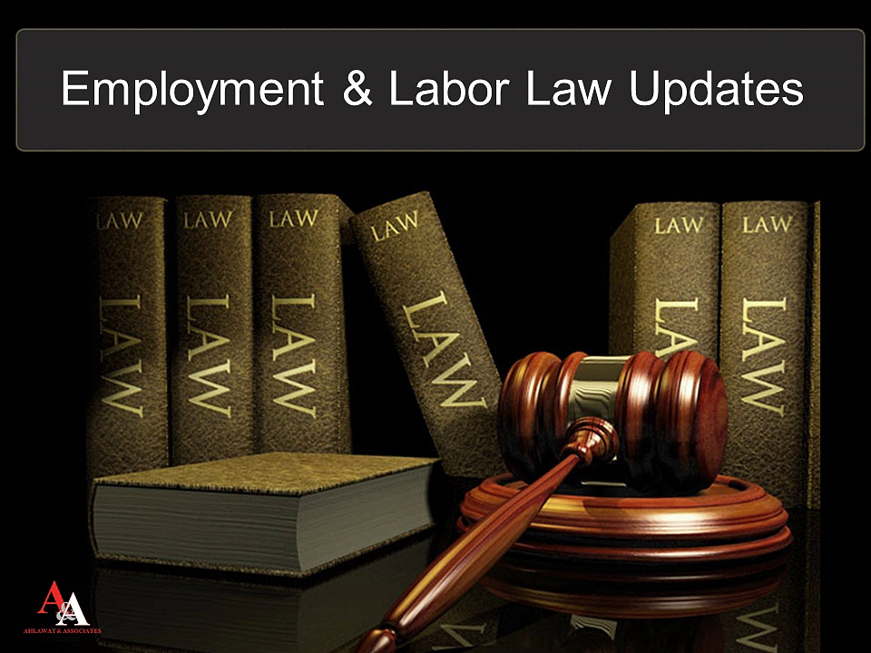 Employment & Labor Law Updates