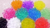 How To Make a variety of colors Orbeez Water Ball Magic Growing 다양한 색상의 개구리알 워터볼 만들기 팜팜