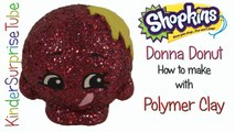 SHOPKINS Limited Edition DONNA DONUT How To Make With Polymer Clay Shopkins Custom DIY