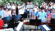 Concert de l'école de musique de Mèze - la classe des percussions