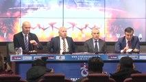 Trabzonspor, Teknik Direktör Rıza Çalımbay ile Sezon Sonuna Kadar Sözleşme İmzaladı