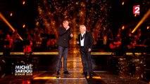 """Dernier Show avec Michel Sardou - Garou en duo avec Michel Sardou chantent """"La Rivière de notre enfance"""""""