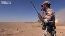 Syrian Arab Army and Allies Advancing East of Palmyra