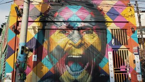 The World Record-Breaking Street Artist Who Paints Around the World