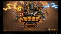 Mini Warriros - Get All 3,4 starts Heroes, reached 100 000 attack