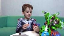Thor Abre Ovos de Pascoa Surpresas Homem Aranha Ben 10 Hot Wheels Spiderman Toys Surprise Eggs