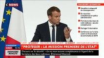 """Depuis le début de l'année, """"treize attentats ont été déjoués"""" en France, a annoncé le président Emmanuel Macron"""