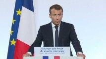 """Radicalisation : Macron annonce une politique de prévention """"dès le plus jeune âge"""""""