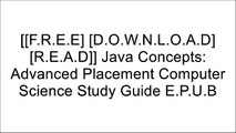 [rbJnl.[F.R.E.E] [D.O.W.N.L.O.A.D]] Java Concepts: Advanced Placement Computer Science Study Guide by Frances P. Trees, Cay S. HorstmannOscar WildeLarry S. KriegerDean R. Johnson TXT