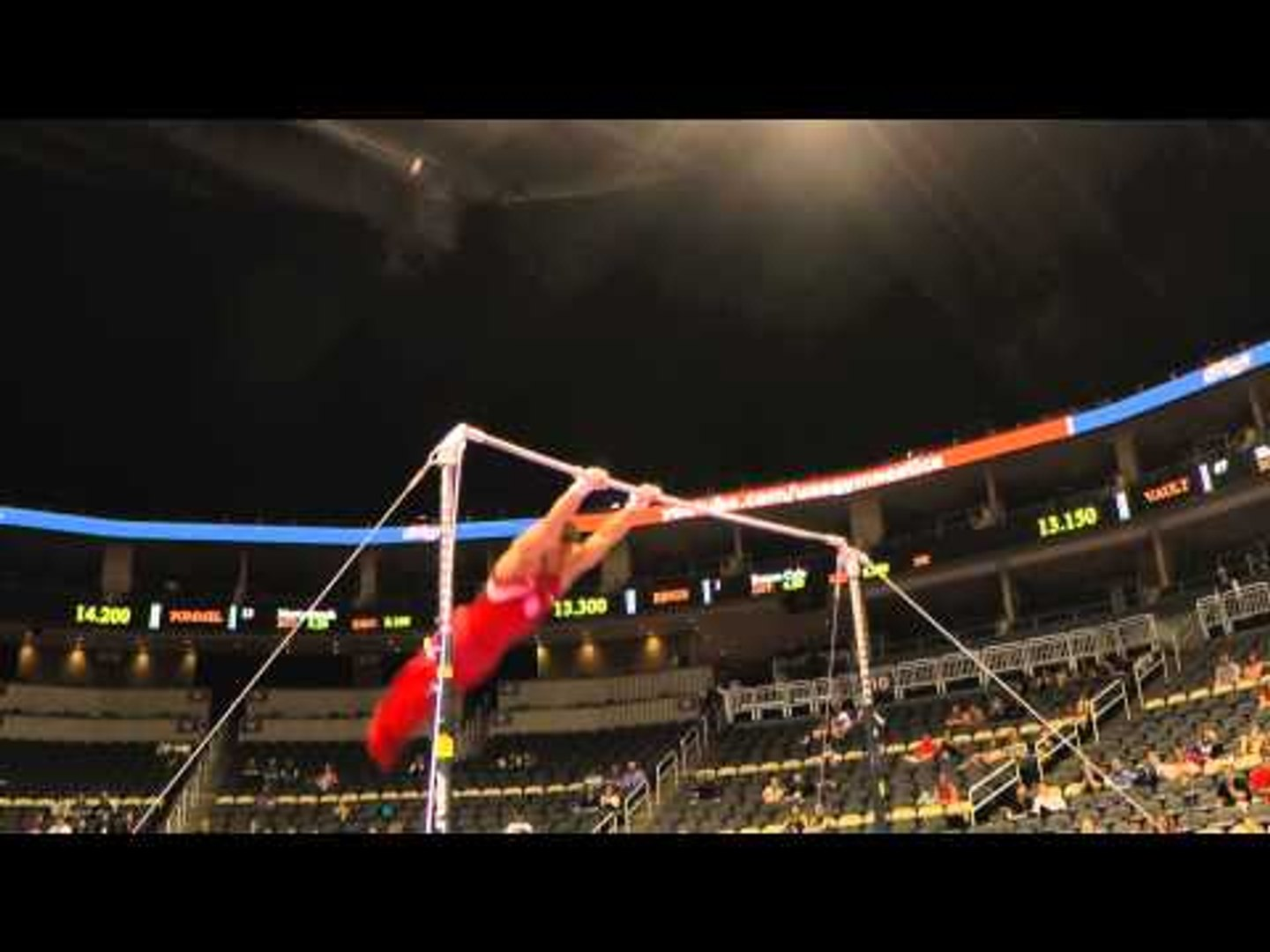 Hunter Justus – Horizontal Bar – 2014 P&G Championships – Jr. Men Day 1