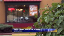 Popeyes Employees Chase Down, Hold Robbery Suspect Until Police Arrive