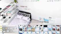The Sims 4: Room build || White Tumblr Bedroom