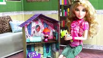 How to Make a Dolls Dollhouse | Plus Fun Finds: Toys for Dolls - Doll Crafts
