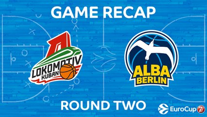 7Days EuroCup Highlights Regular Season, Round 2: Lokomotiv 75-59 ALBA Berlin