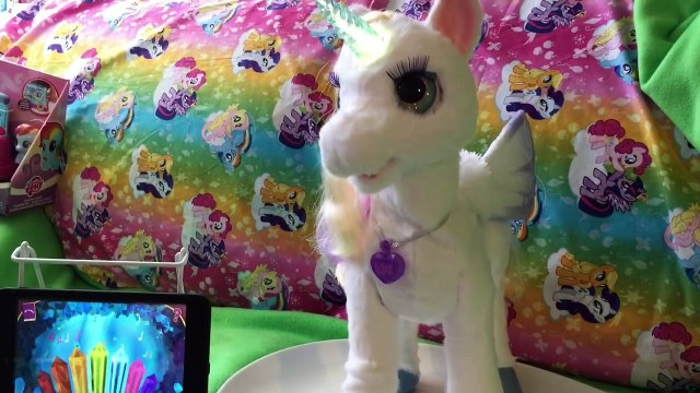 *NEW* StarLily My Magical Unicorn Pet App FurReal Friends Interive Toy Game Playing Part 2
