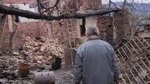 Casas destrozadas y paisajes calcinados por los incendios en Galicia
