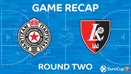 7Days EuroCup Highlights Regular Season, Round 2: Partizan 80-91 Lietuvos Rytas