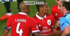 Luisao RED CARD HD - Benfica 0-1 Manchester United 18/10/2017 HD