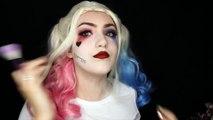 Harley Quinn|Joker Suicide Squad Makeup Tutorial