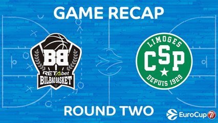 7Days EuroCup Highlights Regular Season, Round 2: Bilbao 91-98 Limoges