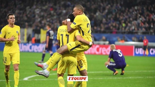 Foot - C1 - PSG : Kylian Mbappé, teenager record