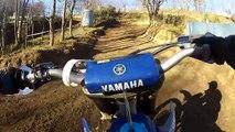 Yamaha YZ 250 VS Honda CR 250 - motocross race