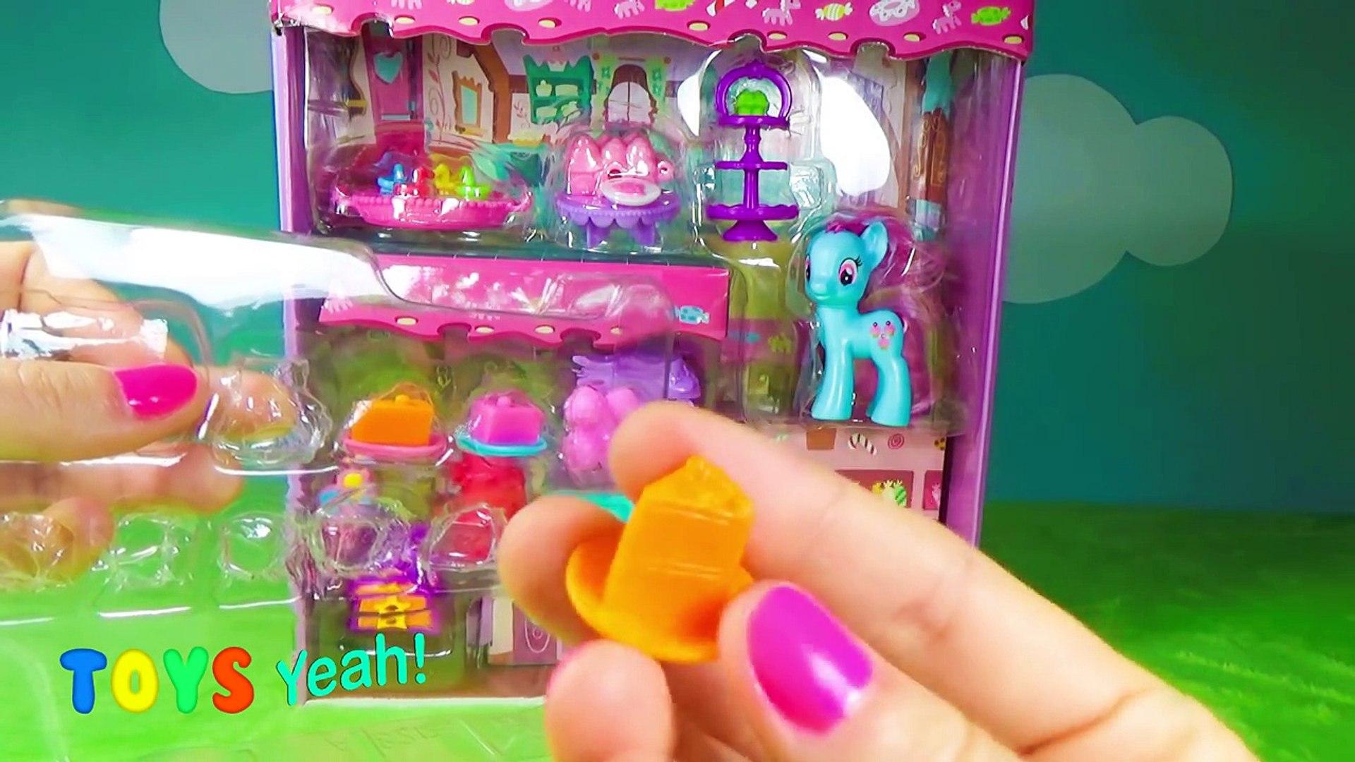 My Little Pony MLP - Sweet Rainbow Bakery - Rainbow Power - Play Doh - Unboxing Toy