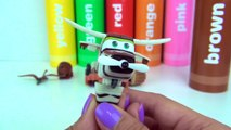 Learn Colors SUPERWINGS Transforming Robot - Plane Helicopter, Jet Dizzy Jerome Donnie Crayola /TUYC