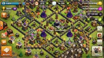 Clash of Clans - Best Witch and Giant attack 3 stars Clear