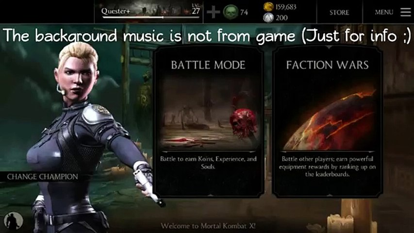 Mortal Kombat X: Fion Wars / Guide to win
