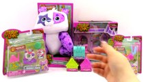 Animal Jam Toy Haul Plush Princess Castle Den Blind Bags Panda Unboxing Toy Review by TheToyReviewer