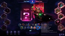 Heroes of the Storm Ranked Gameplay - Kerrigan Heavy Aggression Build - Haunted Mines
