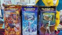 Opening All 3 Pokemon Sun And Moon Theme Decks! Decidueye, Primarina, And Incineroar Promo Cards!