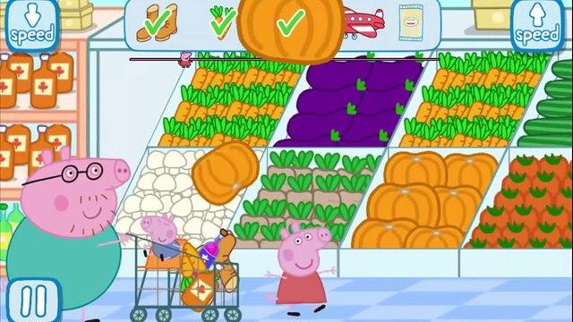 Top 10 Peppa Pig Shopping Trips   Shoe Shopping   Daddy   George   fun   Compilation  