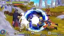 Naruto Ultimate Ninja Heroes 3 Free battle (PSP) - Naruto