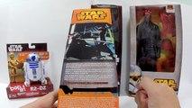 Bonecos Luke Skywalker, Darth Vader, R2-D2 e Darth Maul - Star Wars Disney