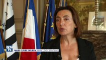 """Affiches sexistes visant la maire de Saint-Brieuc : """"C'est ignoble !"""""""