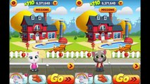 Talking Tom Gold Run Android Gameplay - Talking Angela vs Frosty Tom vs Raccoon Robber