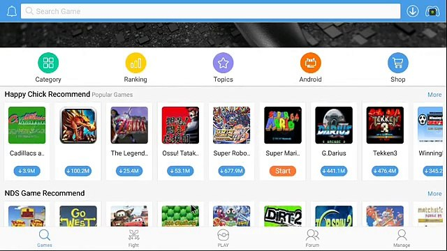 HOW TO PLAY EVERY GAME EMULATOR ON NVIDIA SHIELDTV, OR ANY ANDROID OR IOS  DEVICE: HAPPYCHICK APP