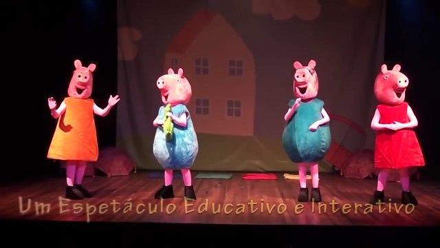 Peppa Pig - Live Show - O show - Peppa Pig ao vivo - Teatro com Peppa Pig e turma