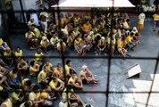 Despite teeming jails, Duterte 'happy' with Philippine prisons