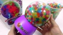 Orbeez 워터볼 빛나는 개구리알 장난감 장식품 만들기 Orbeez Magic light up globe Machine Magic Growing Water Ball Toys