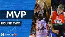 7DAYS EuroCup Regular Season, Round 2 co-MVPs: Rokas Giedraitis & Jalen Reynolds