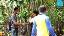 Pulling Bra From Hair Prank Aapke Sir Pe Bra Hai Pranks In India