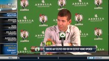 Brad Stevens, Kyrie Irving On Celtics Loss To The Bucks
