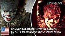 Calabazas de Halloween: Pennywise lleva el arte de esculpir calabazas a otro nivel - TomoNews