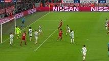 2-0 Joshua Kimmich Goal UEFA  Champions League  Group B - 18.10.2017 Bayern München 2-0 Celtic FC