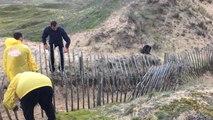 Le chantier nature et citoyen de quatre détenus